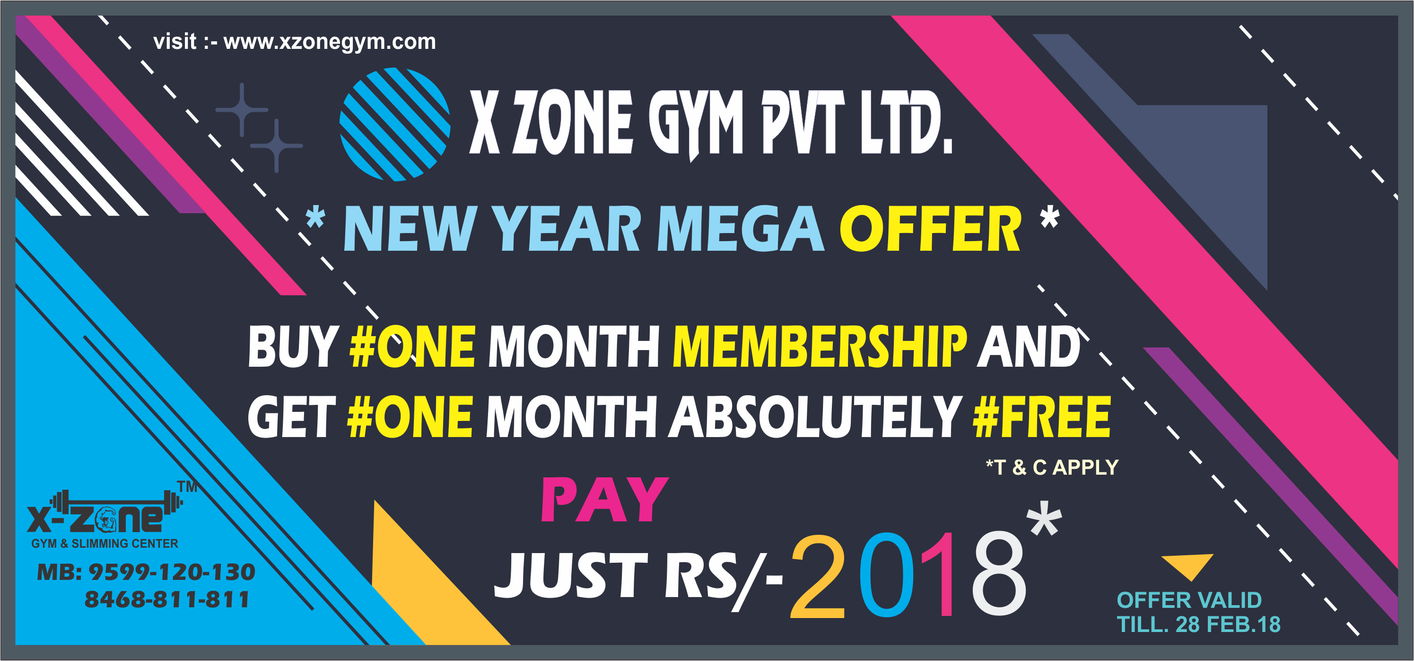 HAPPY NEW YEAR 2018 | 1+1 OFFER